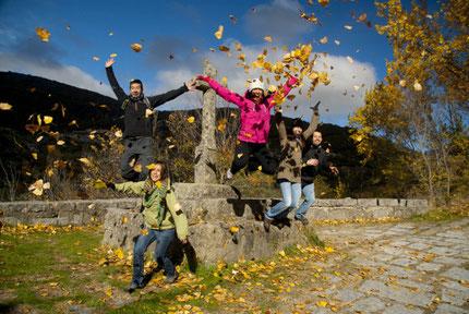 Magic Autumn at Ambroz Valley