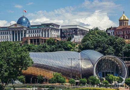 Urban regeneration Tbilisi