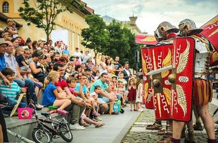Roman soldiers Alba Iulia