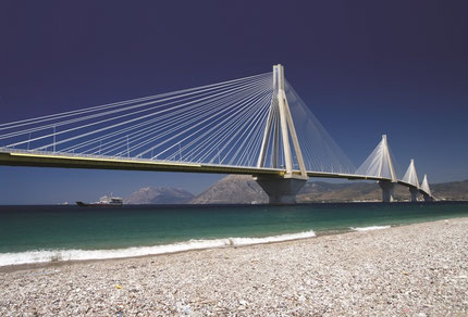The Rion-Antirion Bridge Patra