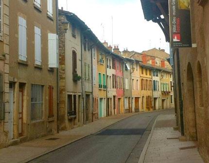 Tournus, the old town
