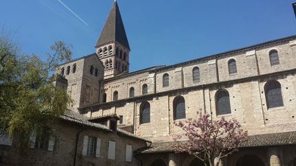 Abbey St Philiibert Tournus