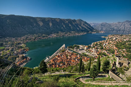 Explore Boka Kotorska bay by boat