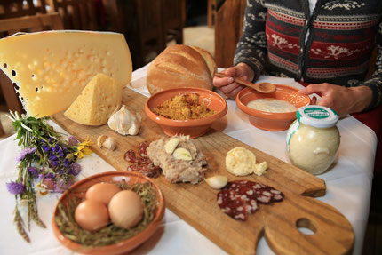 Local food of Bohinj