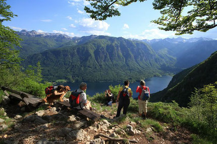 Hiking in Bohinj