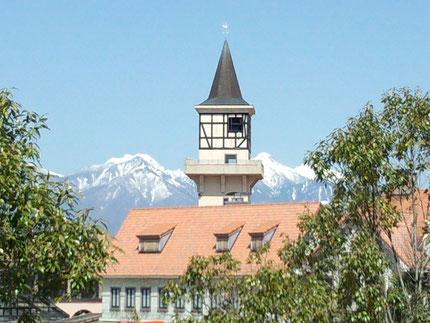 ハイジの村 まるでスイスに来たような眺めです