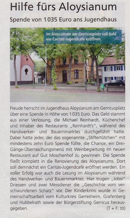 2013, Gerresheimer Gazette