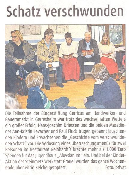 03.07.2013, Düsseldorfer Anzeiger