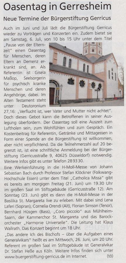2013, Der Gerresheimer