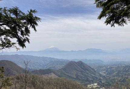 曲岳からの景色