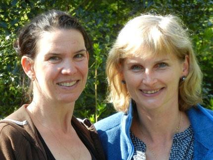 Eva Berges und Silvia Staschewski