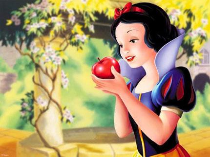 Blanche-neige et la pomme empoisonnée
