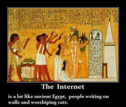 Message de l'Ancienne Egypte