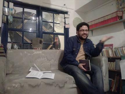 Daniel Bernal Suárez en La sala de máquinas
