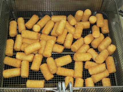 Frittierte Produkte liefern viel Fett und Salz
