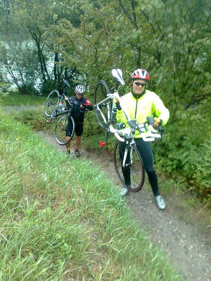 Alpenüberquerung mit dem Rad