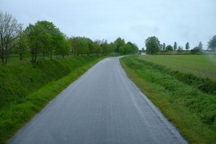 Landstraßen können ganz schön spannend sein