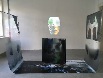 Katy Gály, My Inner Compass, Installation