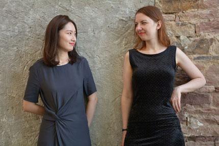 Sangmi Choi und Elina Lukijanova (rechts) Foto: Kim Emily Panholz