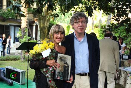 Marina Rota, Prima Classificata Poesia Inedita (foto Cesare Dellafiore)