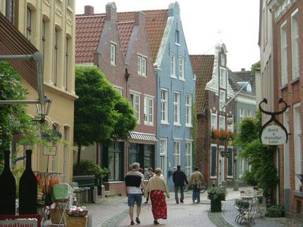 Historische Altstadt Leer - am Hafen