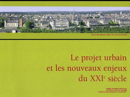 """Page de couverture du dossier de candidature de """"Pau, porte des Pyrénées"""""""