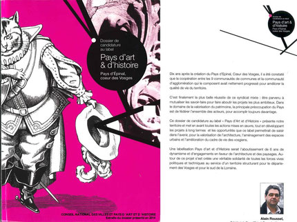 Introduction du dossier Epinal, coeur des Vosges Pays d'art et d'histoire