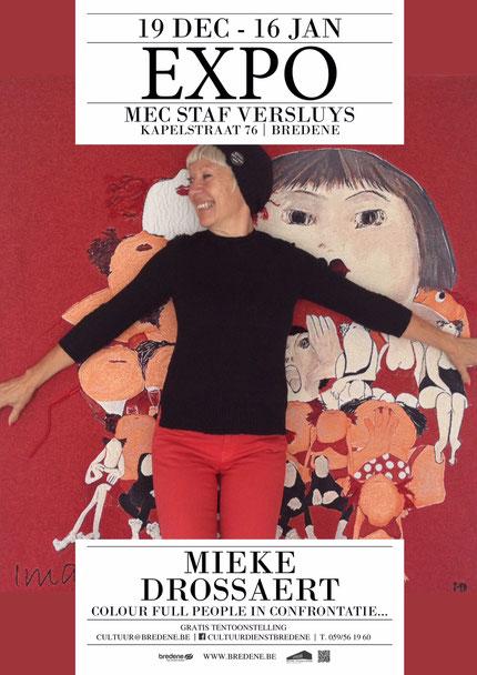 Affiche Expo Bredene Mieke Drossaert