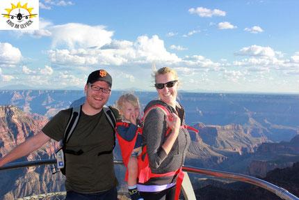 Grand Canyon Nort Rim 2016: Mit Kind ist das Leben nicht vorbei!