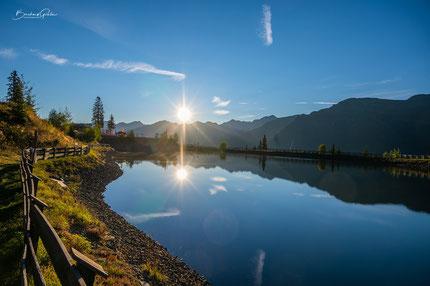 Naturfotografien, Seen, Berge, Hütten, Wiesen, Paznaun, Kappl, Ischgl, See, Galtür