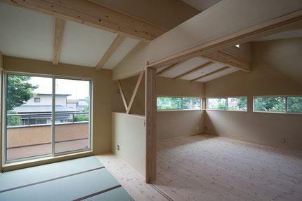 神奈川県の自然素材の家・注文住宅の施工例