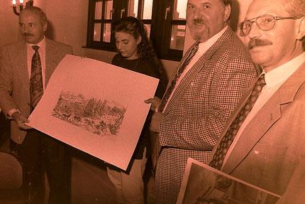 Vor 25 Jahren wurde die Städtepartnerschaft zwischen Pfungstadt und Figline geschlossen . Krä-Foto