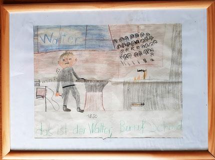 Zeichnung aus der 3. Klasse