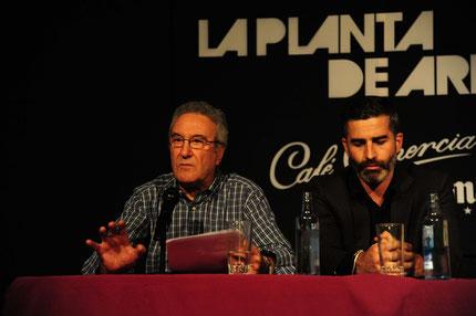 """""""Lo fatal como territorio de la ternura, la nocturnidad y sus enclaves de perversión..."""" Pablo Jiménez. Foto: Ángel Pablo Corral Jiménez"""