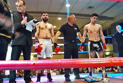 Super 4 Ring Rage Champion Ibrahim Abdul-Malak (Lebanon)
