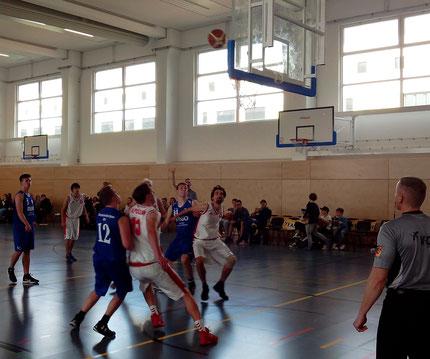 OBV II - SC Potsdam: Kampf um den Rebound