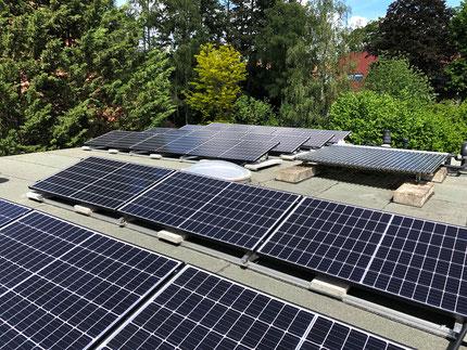 Photovolatik- und Solarthermieanlage