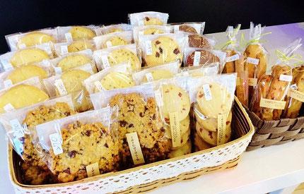 焼き菓子工房ミッシュさんの手作りクッキー