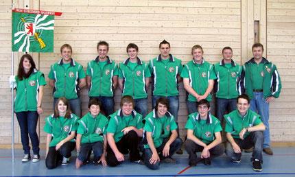 Die Jungschützen des FSV Basadingen
