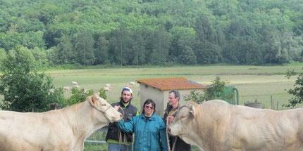 Famille Hillotte - Ferme Gardelly - 40500 Fargues
