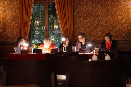 Christiane Geldmacher, Ute Mügge-Lauterbach, Leila Emami, Jürgen Heimbach, Susanne Kronenberg