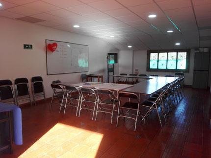 Salón de eventos para 30 personas