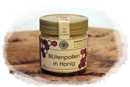 Blütenpollen, Pollenhonig, Imkerei Rieger, Otting, Rudelstetten, Honig, Honig kaufen, Bienenkönigin kaufen