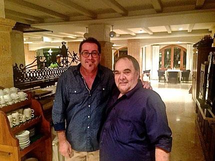 Dos de los grandes de Dénia: Miquel Ruíz y Josep Lluís Polop