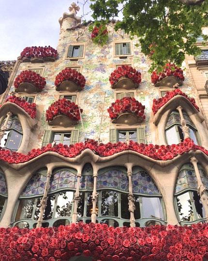 Sant Jordi a Casa Batlló