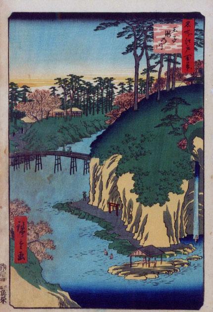 王子瀧の川