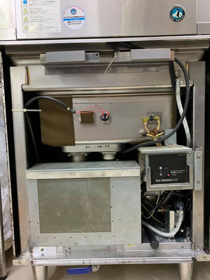 食洗機の洗剤ポンプ取り換え完了