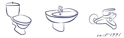 Sanitärprodukte seit 1991