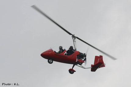 L'autogyre, un moyen simple quand le drone civil ne le permet pas...
