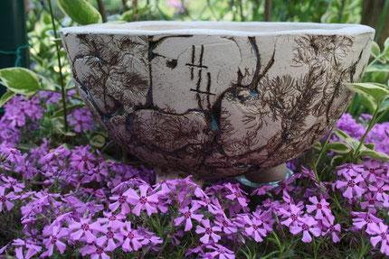 Keramikschale mit Muster